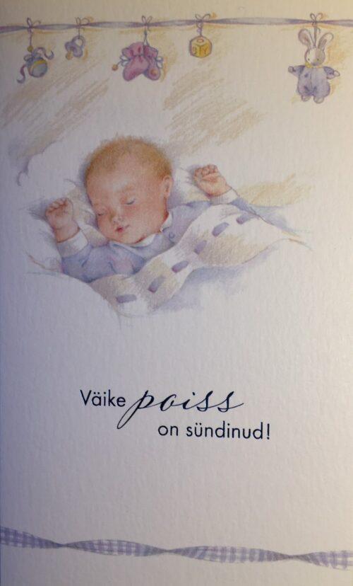 Kaart lapse sünni puhul