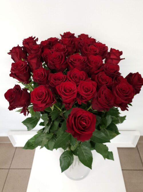 Punane roos 70cm