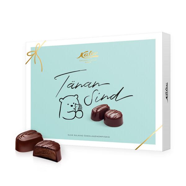 """""""Tänan Sind"""" rummimaitseline šokolaadikompvek"""